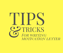 How to write a successful motivation letter for your masters abroad