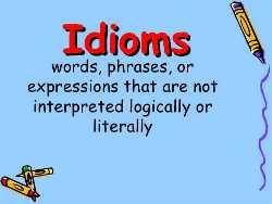 Idioms1