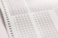 Exam carbon paper computer sheet
