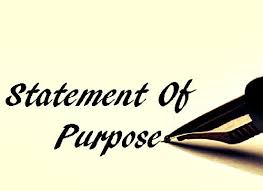 what is the meaning of statement of purpose