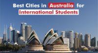 Top Ranked Student Cities in Australia
