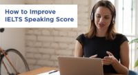 Improve IELTS Speaking Score