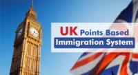 UK Points Based Immigration System