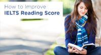 How to Improve IELTS Reading Score