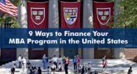 MBA program in USA