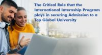 International Internship Program - Secure Admission to a Top Global University