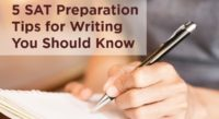 5 SAT Preparation Tips for Writing You Should Know