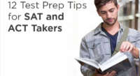 12 Test Prep Tips for SAT and ACT Takers