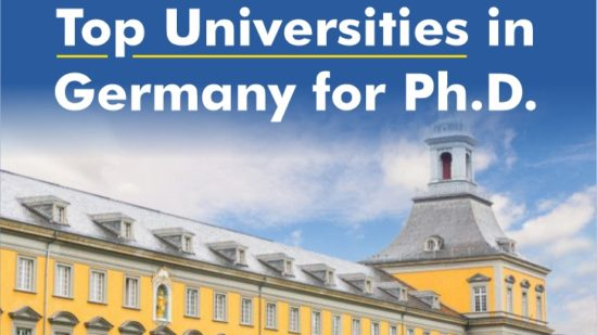 Top Universities in Germany for Ph.D