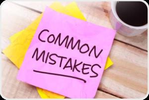 Common-mistakes