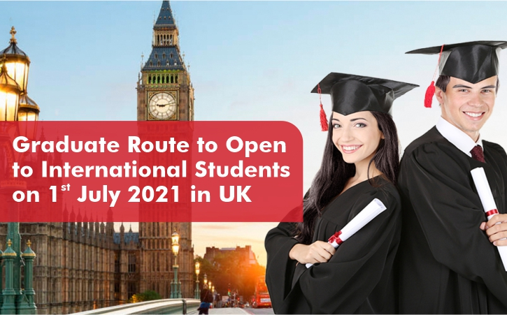 Graduate Route to open to International Students on 1 July 2021 in UK -  Manya Group