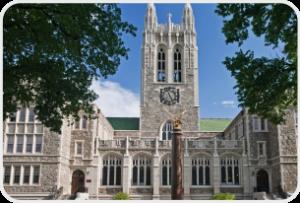 19. Boston College (Carroll)