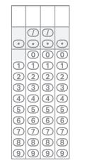 SAT Math Grid In